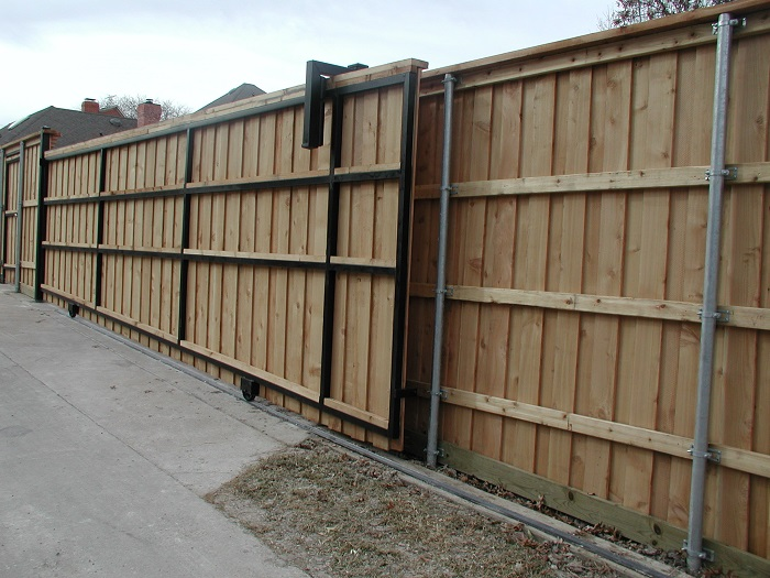automatic gates in dallas tx l c fence and gate