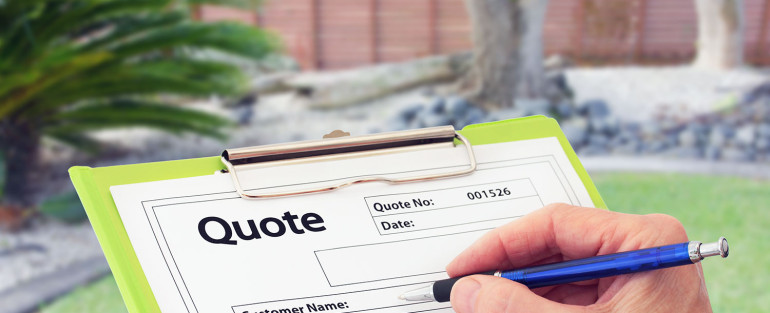 fence contractor quote